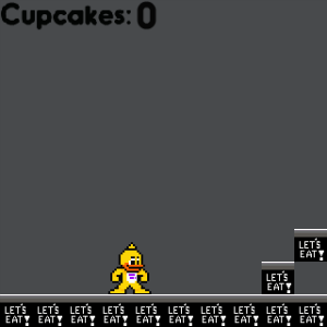 screenshot of FNAF: Cupcake Collector