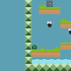 screenshot of frog bounce