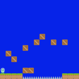 screenshot of The Bouncy World