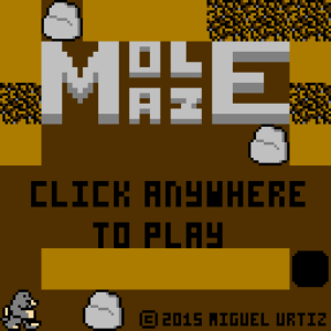 screenshot of Mole Maze