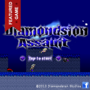 screenshot of Diamondsion Assault