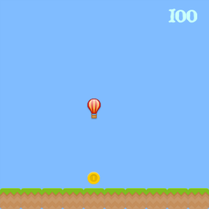 screenshot of coin collect