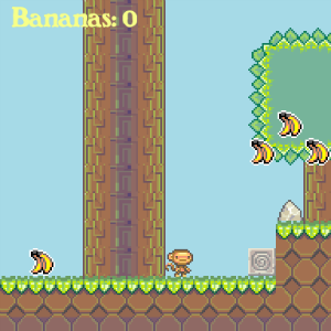 screenshot of Super Monkey Adventure