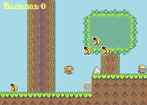 screenshot of Copy of Jumping Monkey