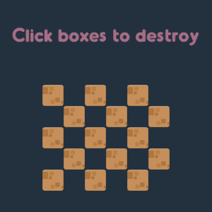 screenshot of Exploding Box Example