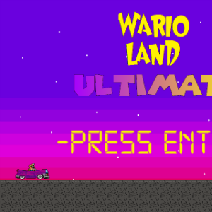 {W.I.P} Wario Land Ultimate