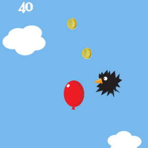 screenshot of Balloon to the Moon