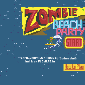WIP Zombie Beach Party Deluxe