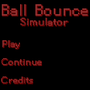 Ball Bounce Simulator (Mobile Compatable)