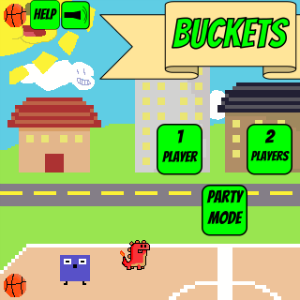 screenshot of Buckets Online version
