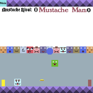 screenshot of Mustache Man soccer