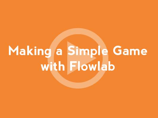 make games with the flowlab game creator